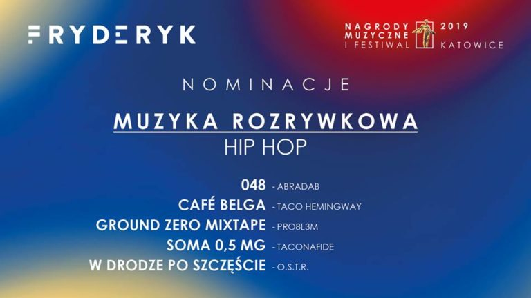 Nominacje do Fyderyków 2018