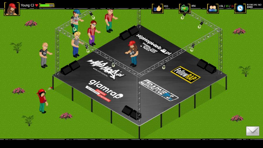 Screenshot z gry Rap Tycoon