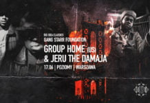 Group Home i Jeru The Damaja na dwóch koncertach w Polsce!