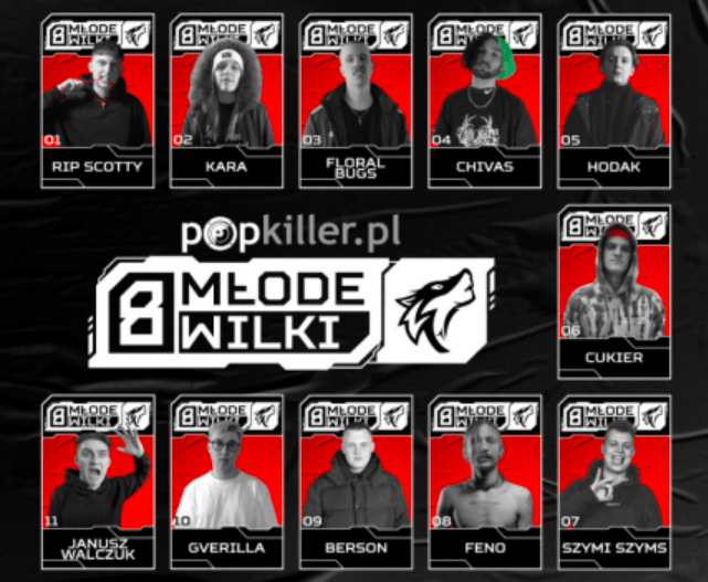 Młode Wilki Popkillera 2021 – przybliżamy sylwetki uczestników